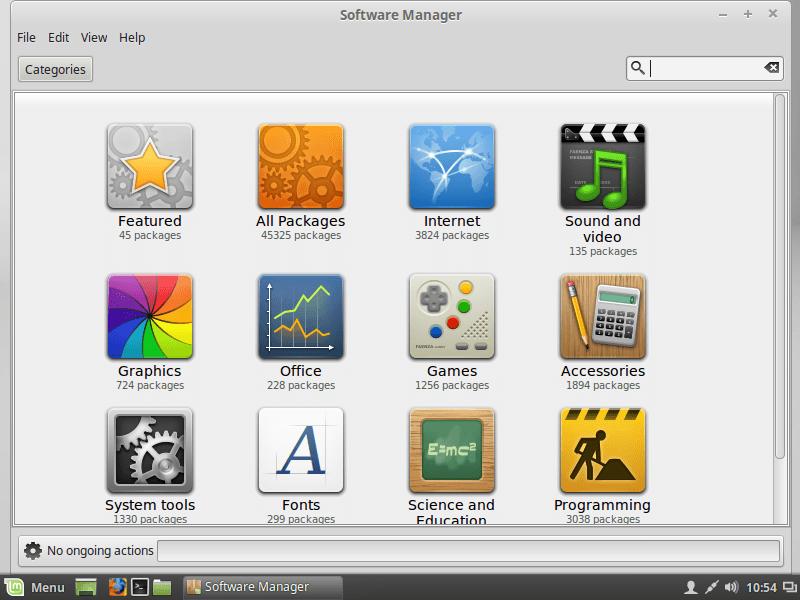 Linux mint 17 lts