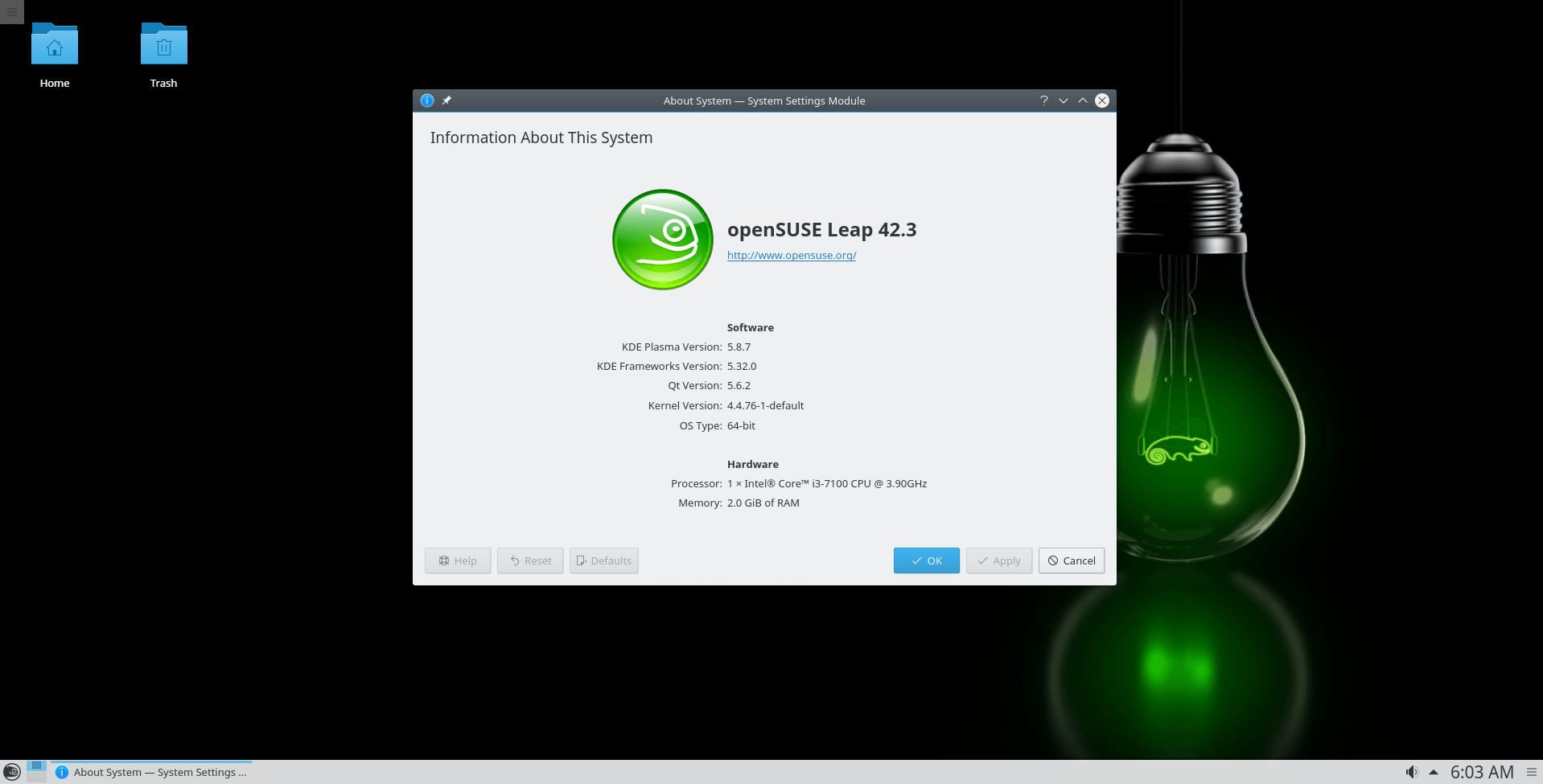 openSUSE Leap 42 3 (July, 2017) 64-bit ISO Disk Image Free Download