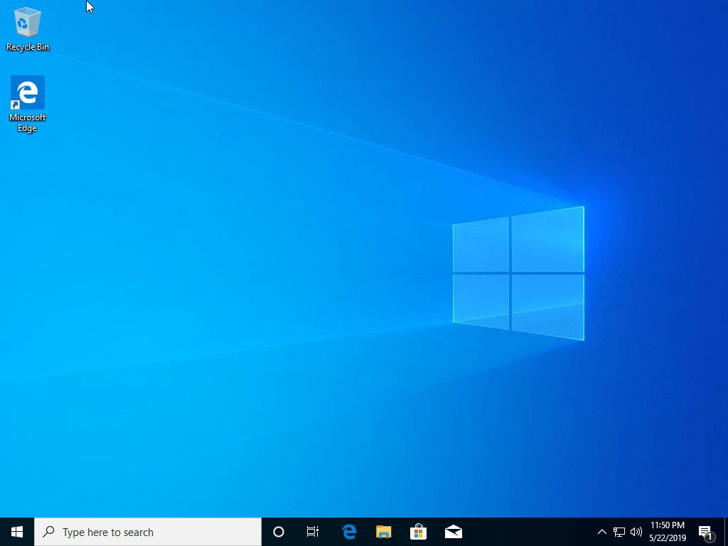 Windows 10 1903 (May 2019 Update) Home & Pro 32 / 64 Bit