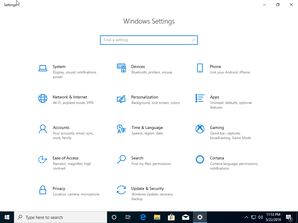 Windows 10 1903 (May 2019 Update) Home & Pro 32 / 64 Bit Official
