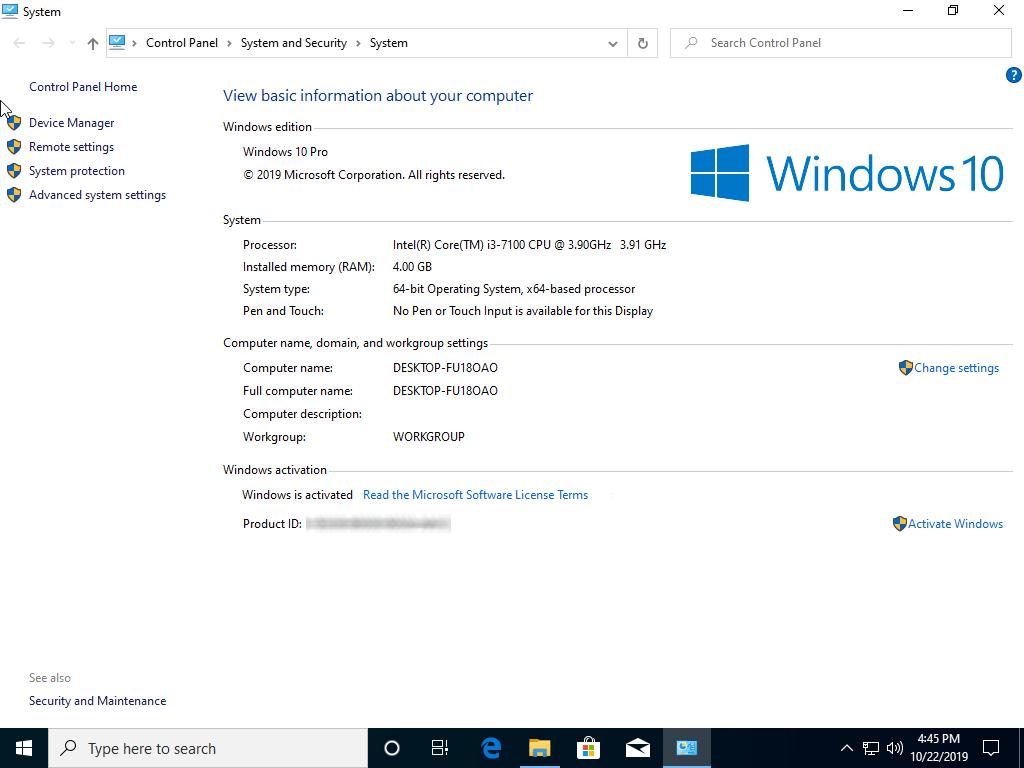Windows 10 1909 November 2019 Update Home Pro 32 64 Bit Official Iso Download Getmyos Com
